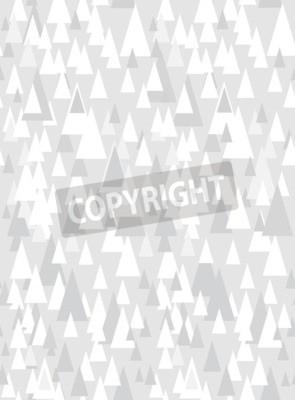 Adesivo Cinzento, seamless, padrão, com, decorativo, triângulos, e, cópia, espaço
