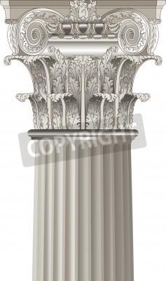 Adesivo classical coluna