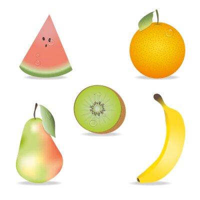 Adesivo Coleção da fruta
