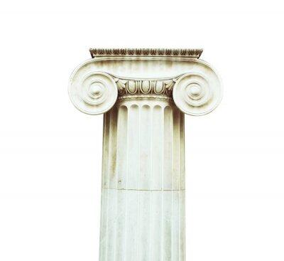 Adesivo Coluna antigo em estilo dórico