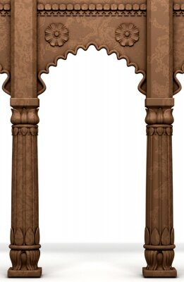 Adesivo Coluna indiano tradicional Arc