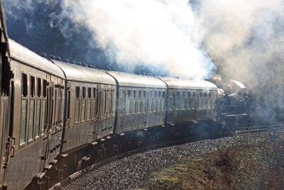 Adesivo Comboio a vapor
