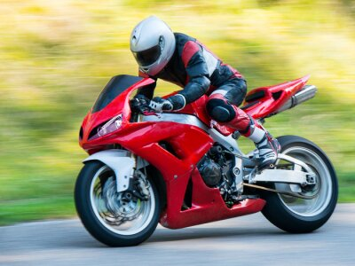 Adesivo Corrida de moto