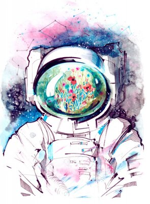 Adesivo cosmos