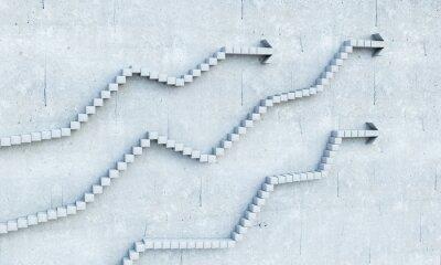 Adesivo Crescimento e conceito de progresso