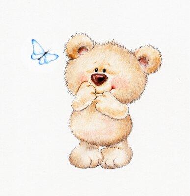 Adesivo Cute Teddy bear