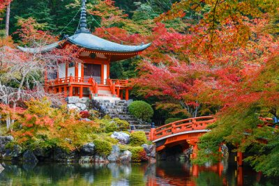 Adesivo Daigoji Temple em Kyoto