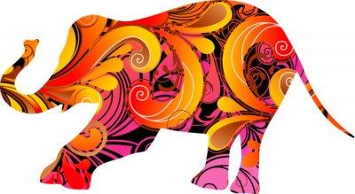 Adesivo Decorativo elefante