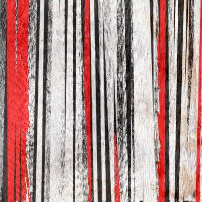 Adesivo Desenho de fundo abstrato na textura de grão de madeira
