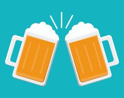 Adesivo Desenho de ícones de bebidas