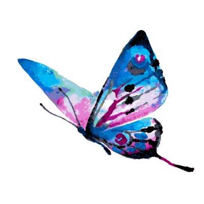 Adesivo design de borboletas