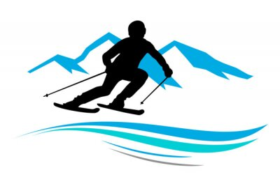 Adesivo Desportos de Inverno - 13