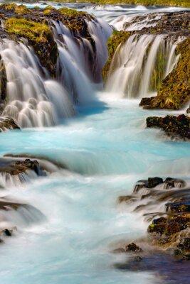 Adesivo Detalhe, bruarfoss, cachoeira, islândia