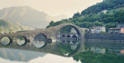 Adesivo Devils Bridge, Itália