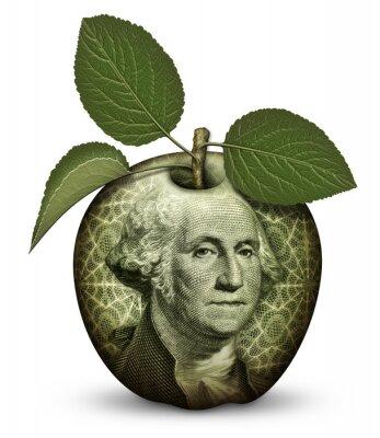 Adesivo Dinheiro da Apple