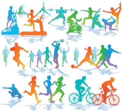 Adesivo Educação Física e Desporto