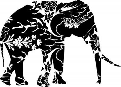 Adesivo Elefante gráfico