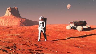 Adesivo em Marte