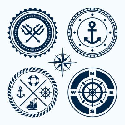 Adesivo Emblemas Náutico