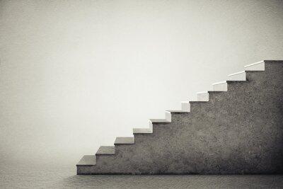 Adesivo escadas de concreto