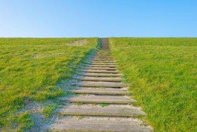 Adesivo Escadas, dique, luz solar