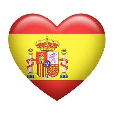 Adesivo Espanhol Insignia Heartshape