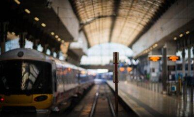 Adesivo Esperando o trem
