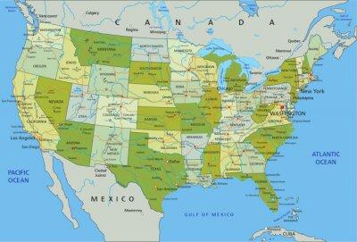 Adesivo Estados Unidos da America.