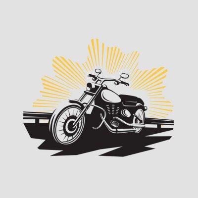 Adesivo Etiqueta da motocicleta