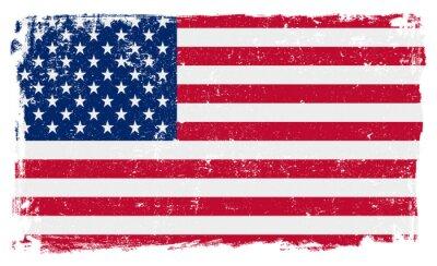 Adesivo EUA, bandeira, vetorial, formato