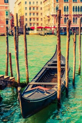 Adesivo Famoso Venice Gondola