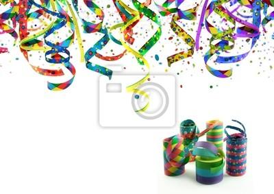Adesivo Festa, Festival de rua, Carnaval, Aniversário - Convite