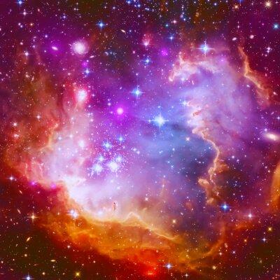 Adesivo Flaming Star Nebula