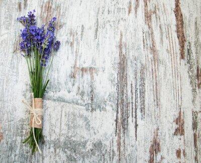 Adesivo flores de lavanda