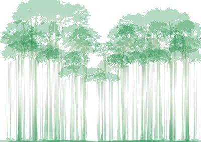 Adesivo Floresta, neutro, fundo