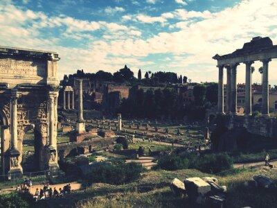 Adesivo Fórum Romanum, Rom
