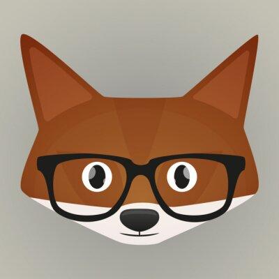 Adesivo Fox avatar