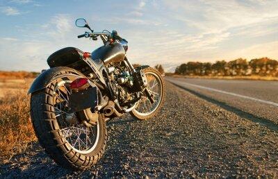 Adesivo Freedom.Motorbike sob o céu