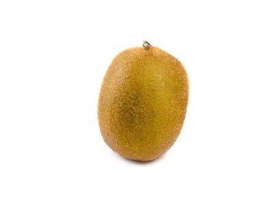 Adesivo Fruta de quivi isolada no fundo branco