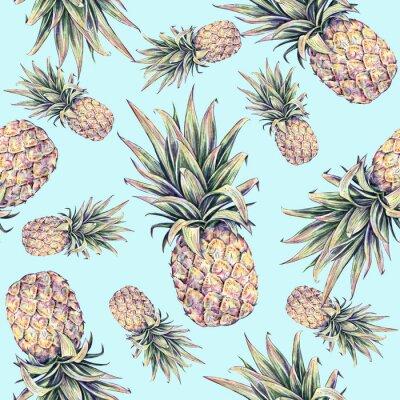 Adesivo Frutas tropicais.