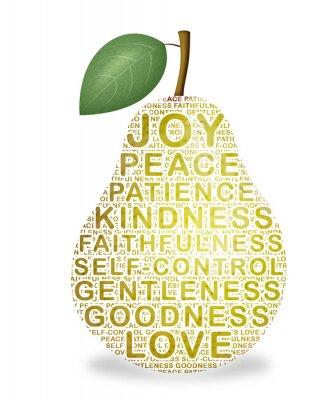 Adesivo Fruto do Espírito
