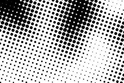 Adesivo Fundo abstrato com pontos pretos.