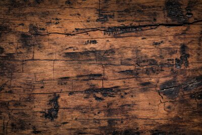 Adesivo Fundo de textura de prancha de madeira velha. Textura resistida natural de placas de madeira.