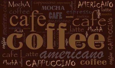 Adesivo Fundo do café