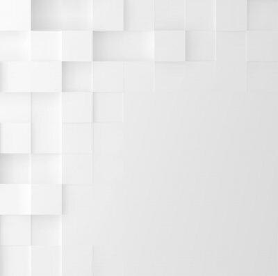 Adesivo Fundo do quadrado mosaico. Desenho minimalista de capa geométrica minimalista. Vector gráfico.