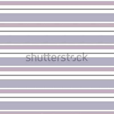 Adesivo Fundo geométrico do vetor abstrato Listrado horizontal Impressão para design de interiores e tecido