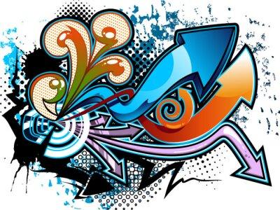 Adesivo Fundo Graffiti
