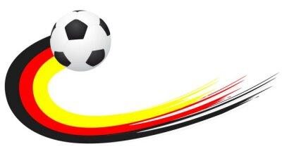 Adesivo Fussball - Alemanha