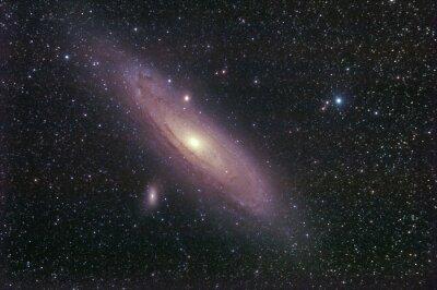 Adesivo galassia la di Andromeda