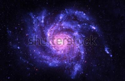 Adesivo Galáxia espiral - elementos desta imagem fornecidos pela NASA